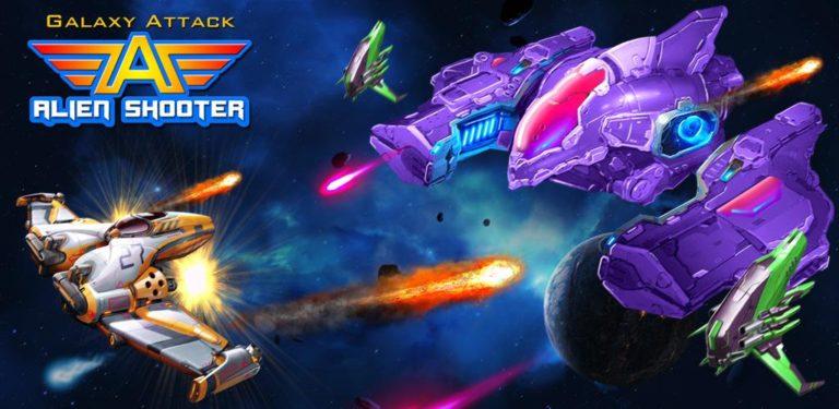Galaxy Attack: Alien Shooter v33.8 [Mod] Apk