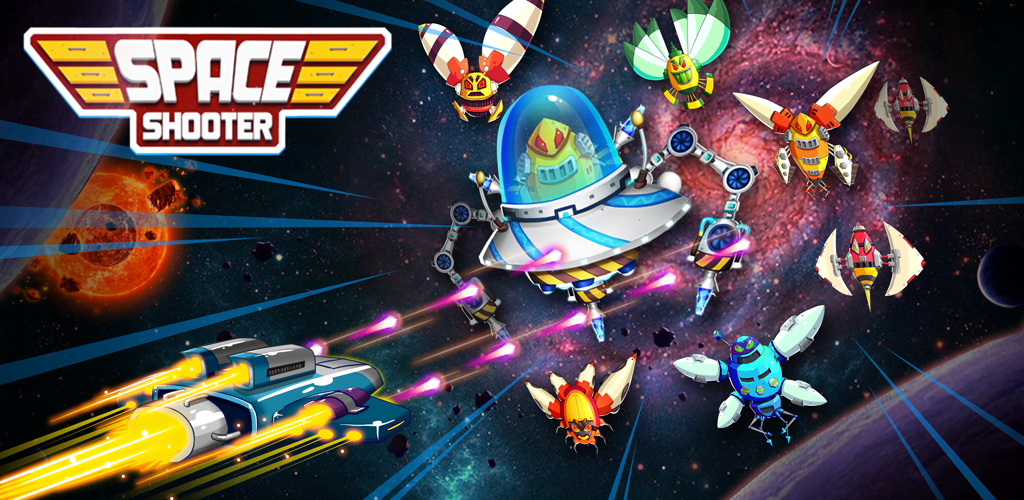 Space Shooter : Galaxy Shooting Banner