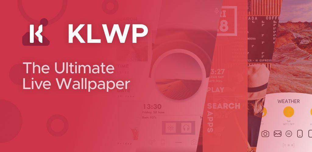 KLWP Live Wallpaper Maker Banner/Cover