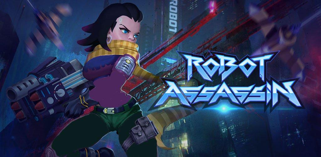 Robot Assassin Bullet Fight Mod Apk Banner