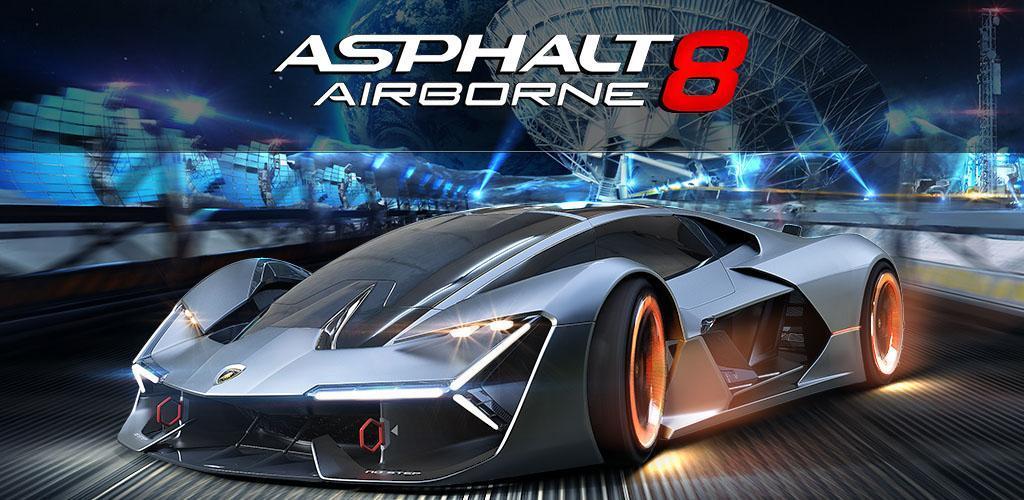 Asphalt 8 Airborne Mod APK Banner