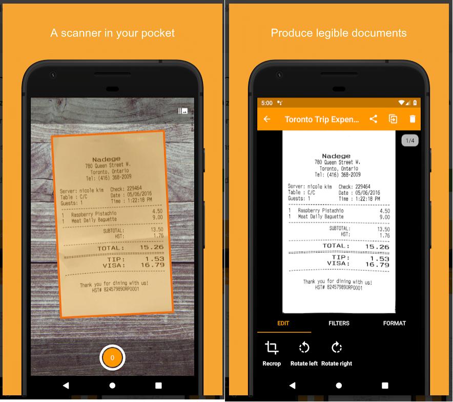 Genius Scan - PDF Scanner Screenshots