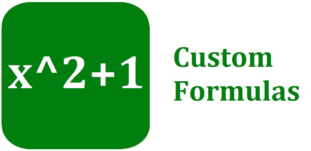 Custom Formulas Cover