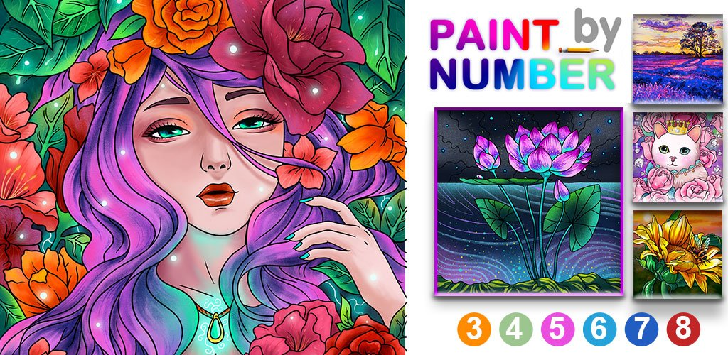 Paint By Number – Free Coloring Book & Puzzle Game Cover