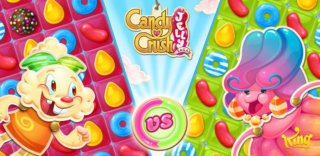 Candy Crush Jelly Saga Cover