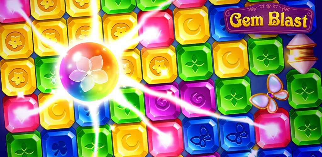 Gem Blast Magic Match Puzzle Cover